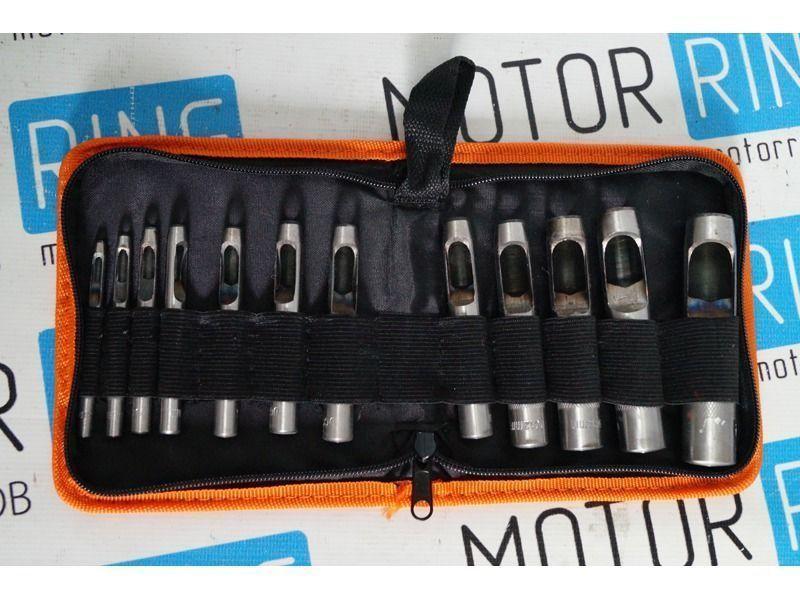 Набор просечек 12штук 3,0-19,0 мм «АвтоDело» 40412_4