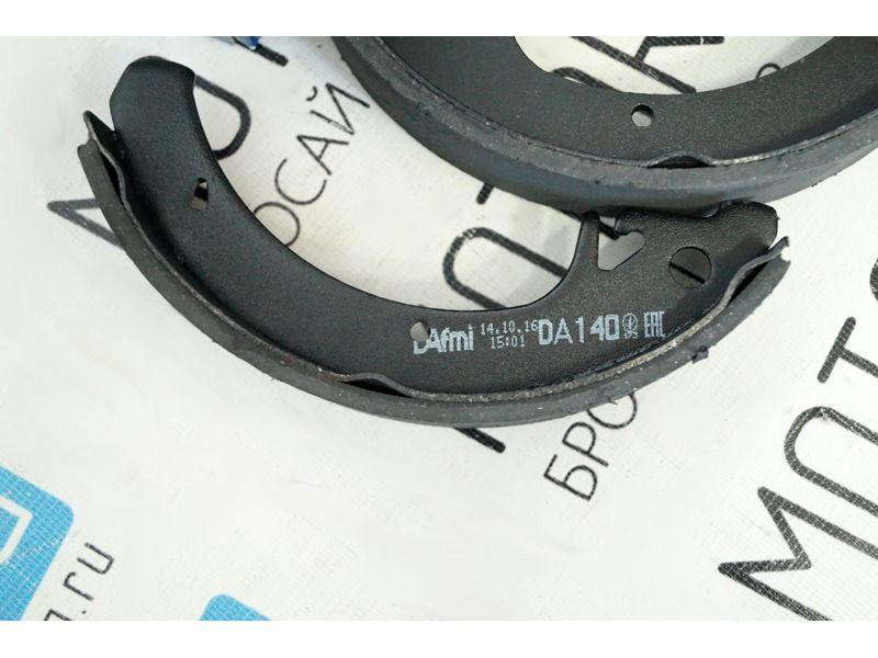 Тормозные колодки задние DAFMI для переднеприводных автомобилей ВАЗ без АБС_4