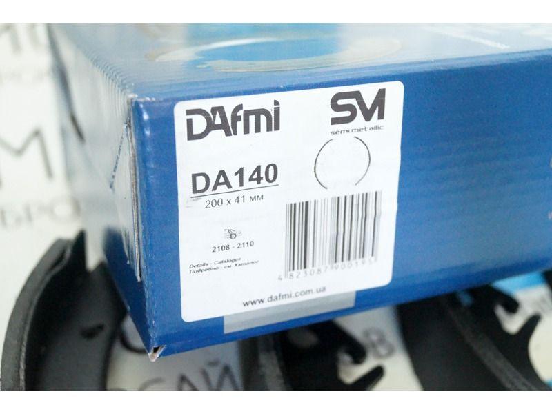 Тормозные колодки задние DAFMI для переднеприводных автомобилей ВАЗ без АБС_2
