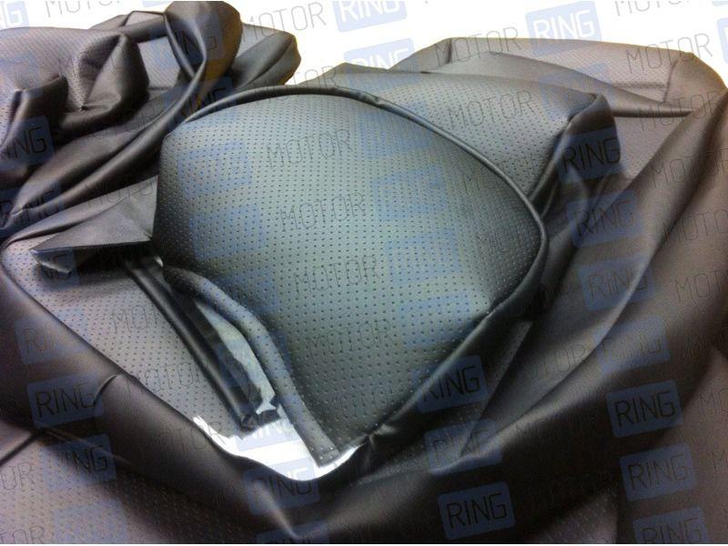 Обивка сидений (не чехлы) экокожа с перфорацией на ВАЗ 2108-21099, 2113-2115_3