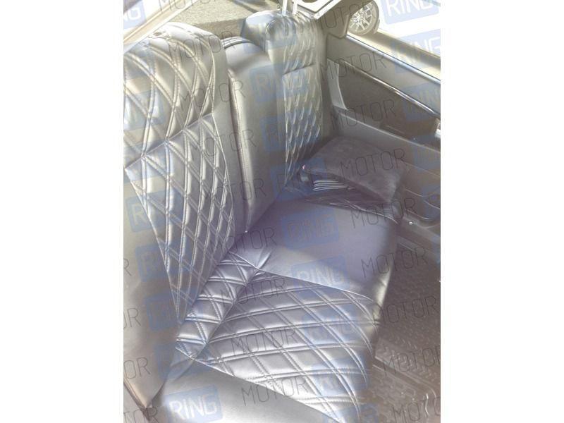 Обивка сидений (не чехлы) экокожа Ромб на Лада Нива 4х4_2
