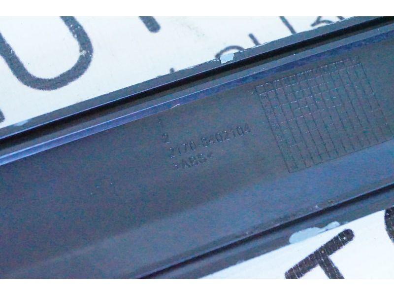 Накладка (Сабля) на капот Лада Приора в цвет кузова_3