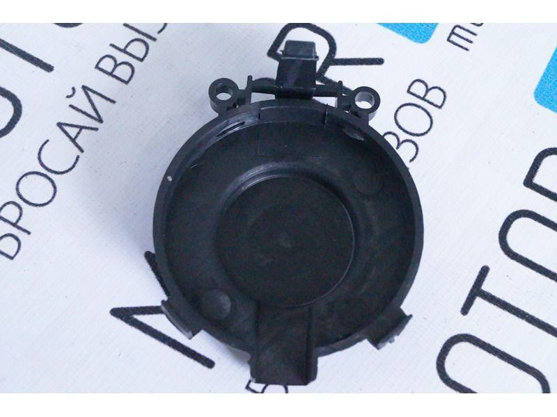 Тюнинг фары в черном корпусе с диодными ДХО на Лада Гранта_6