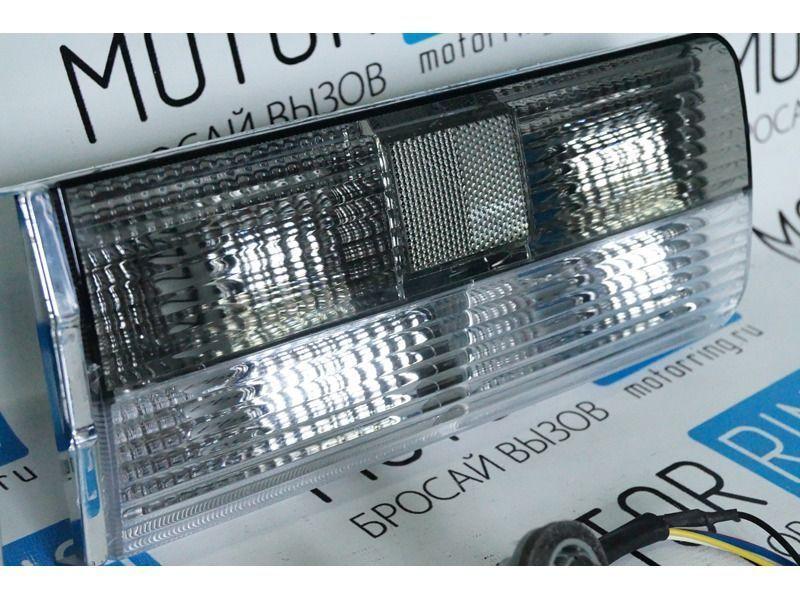 Задние фонари с черной полосой для ВАЗ 2106_3