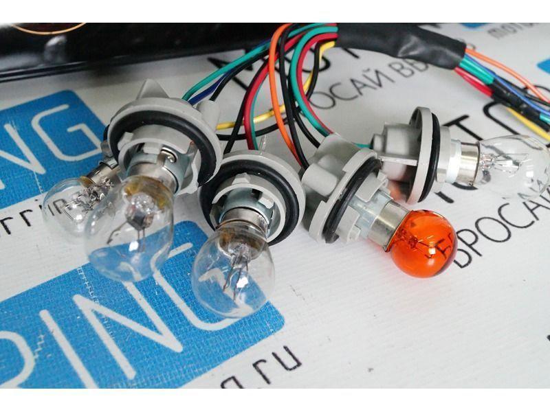 Задние фонари с кольцами тонированные на ВАЗ 2105, 2107_3