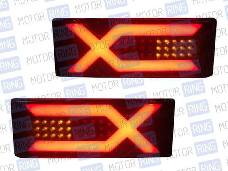 Задние диодные фонари ХX 0013J для ВАЗ 2108-14_3