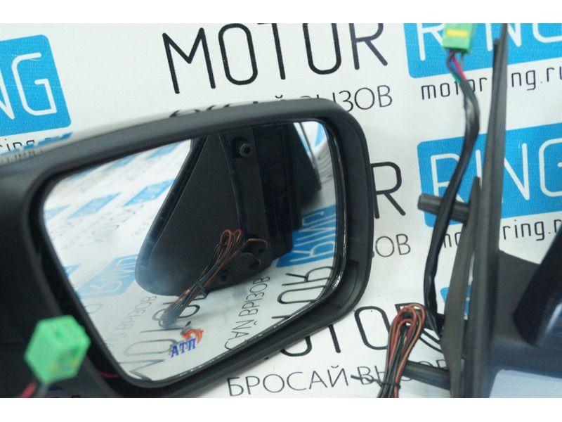 Боковые зеркала от Приоры 2 с антибликом, повторителями, электроприводом и обогревом для Лада Калина, Калина 2, Гранта, Datsun_3