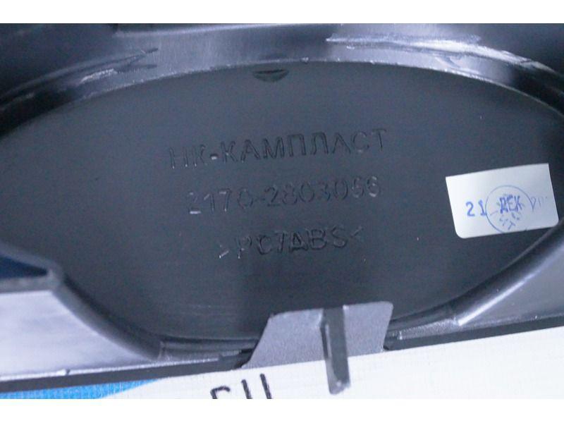 Оригинальная решётка радиатора с шильдиком на Лада Приора_5