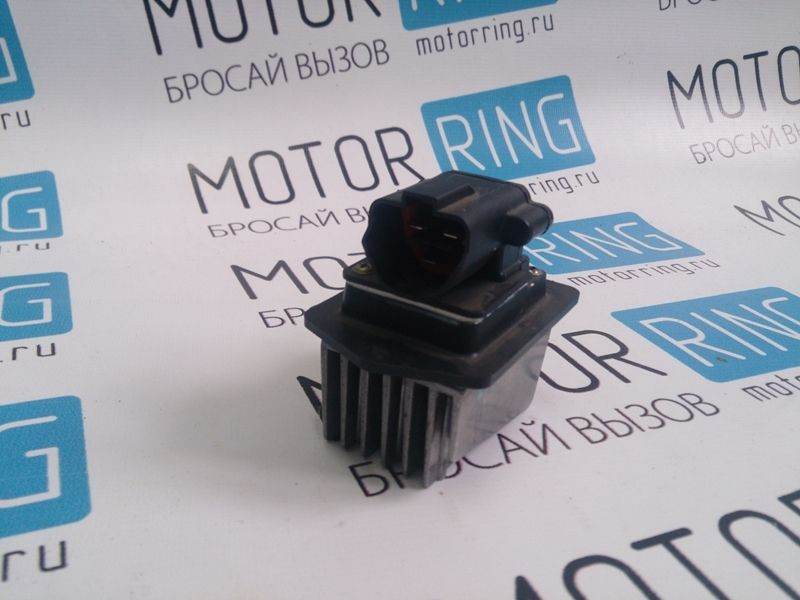 Резистор электронного вентилятора отопителя для Лада Приора с кондиционером Panasonic_1