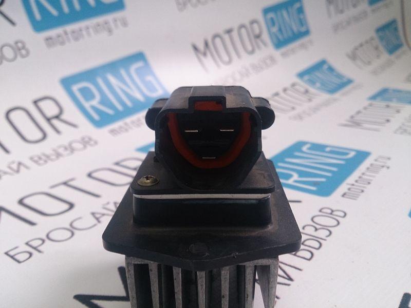 Резистор электронного вентилятора отопителя для Лада Приора с кондиционером Panasonic_3