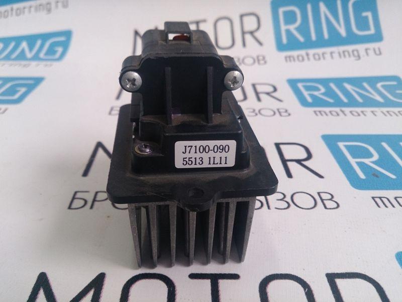 Резистор электронного вентилятора отопителя для Лада Приора с кондиционером Panasonic_2