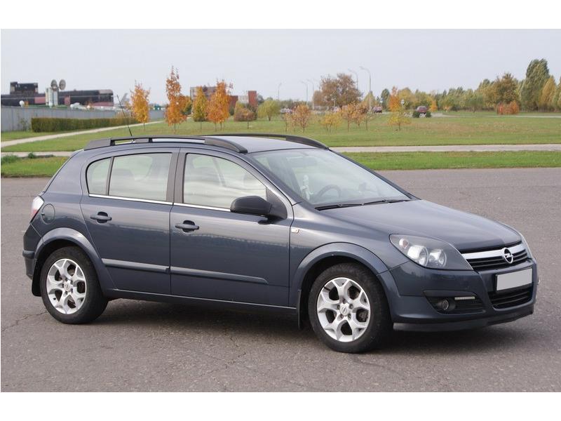 Рейлинги для Opel Astra (H) Family, черные_3