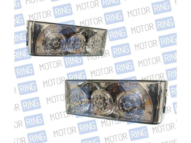 Задние фонари ProSport RS-03004 Terminator для ВАЗ 2108-14 диодные тонированные, хром_1