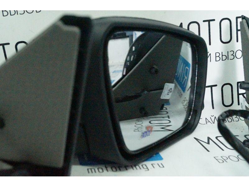 Боковые зеркала Ульяновск нового образца с электроприводом, обогревом, повторителем неокрашенные на Лада Приора_4