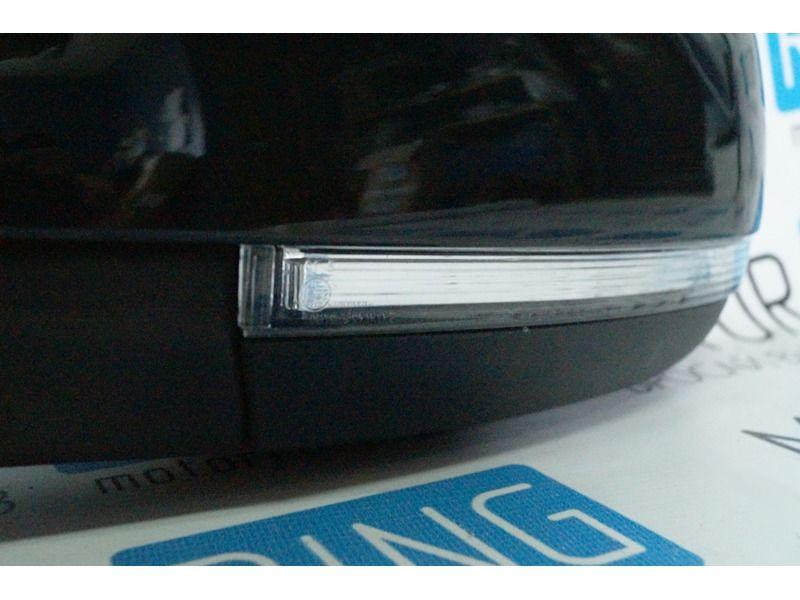 Боковые зеркала Ульяновск нового образца с электроприводом, обогревом, повторителем неокрашенные на Лада Приора_2
