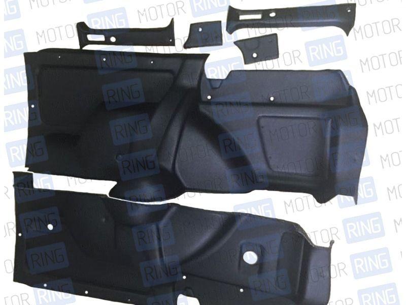 Обивка багажника 21214 формованная, верх экокожа на 3-дверную Лада Нива 4х4_1