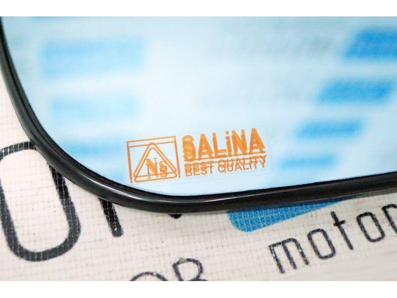 Комплект зеркальных элементов (стекол) Люкс с голубым антибликовым покрытием и обогревом для Лада Калина, Калина 2, Гранта седан_2