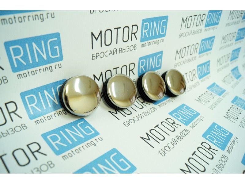 Комплект хромированных заглушек ступицы колеса ВАЗ 2108-21099, 2113-2115_3