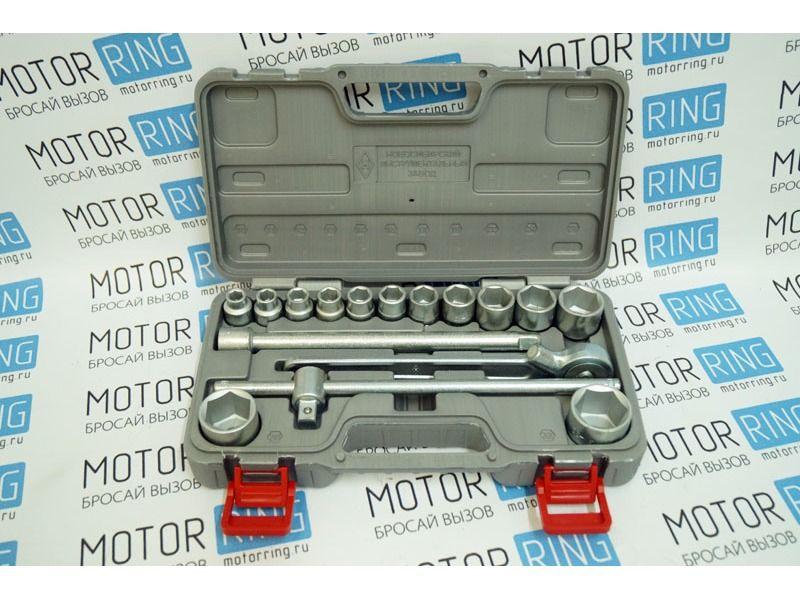 Автомобильный набор инструментов № 2 Новосибирский инструмент 1/2 - 16 предметов_1