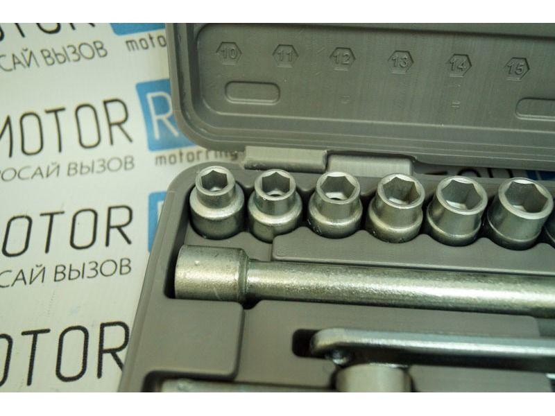 Автомобильный набор инструментов № 2 Новосибирский инструмент 1/2 - 16 предметов_3
