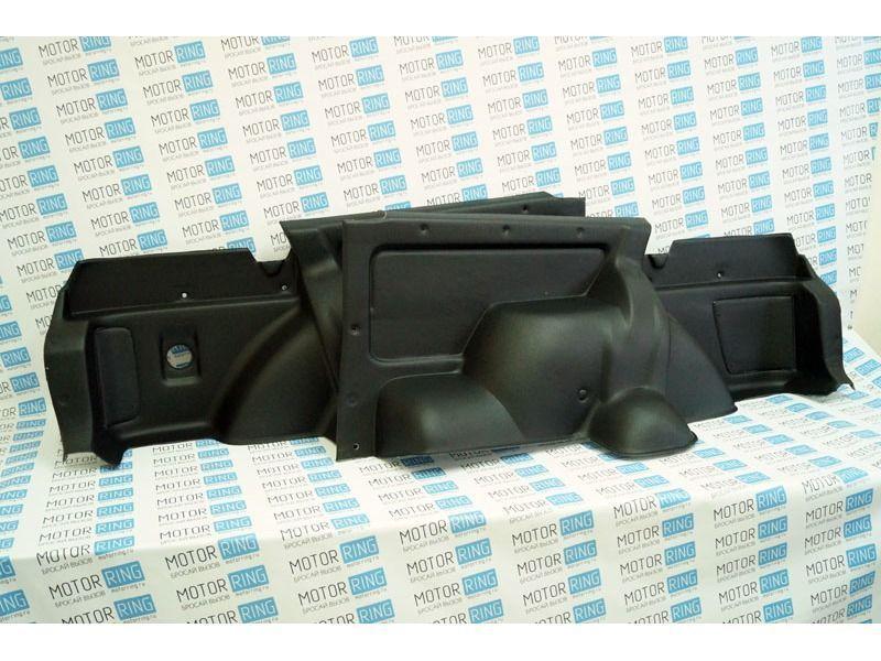 Обивка багажника 21214 формованная, верх экокожа на 3-дверную Лада Нива 4х4_2