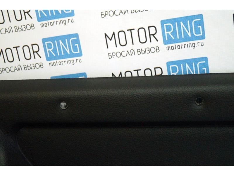 Обивка багажника 21214 формованная, верх экокожа на 3-дверную Лада Нива 4х4_4