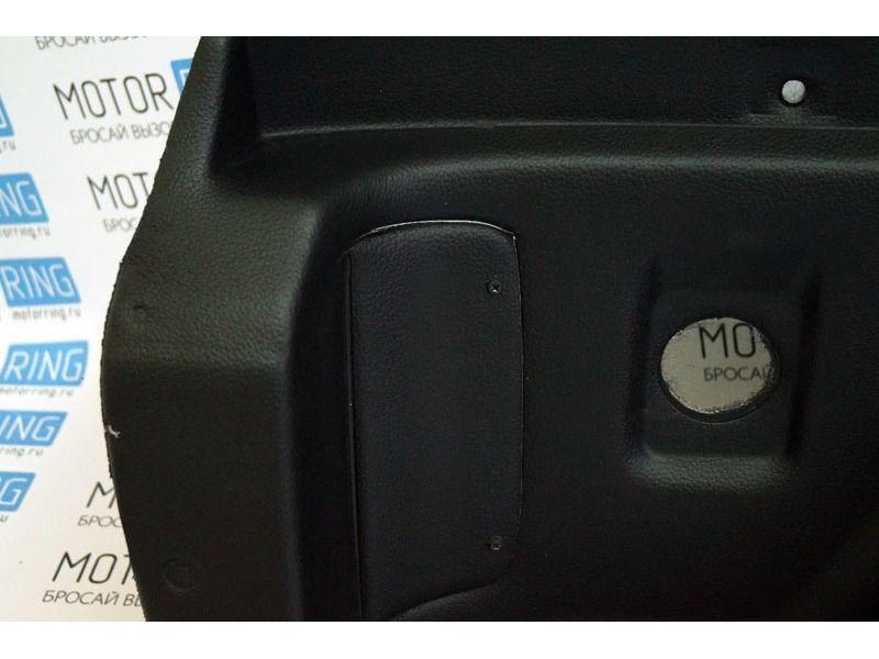 Обивка багажника 21214 формованная, верх экокожа на 3-дверную Лада Нива 4х4_5