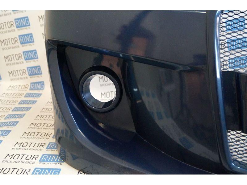 Передний бампер Я Робот на ВАЗ 2113, 2114, 2115 в цвет_5