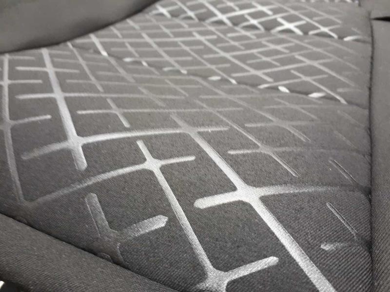 Обивка сидений (не чехлы) термотиснение Скиф на ВАЗ 2110_4