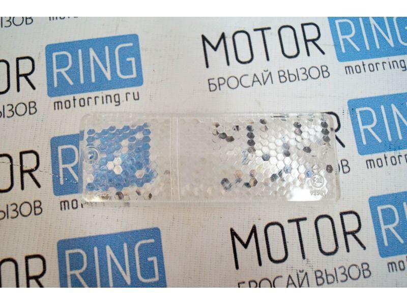 Стекло подфарника для ВАЗ 2106, Освар, левый, белый._3