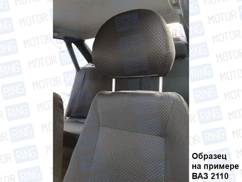 Обивка сидений (не чехлы) черная Искринка на Лада Нива 4х4_3
