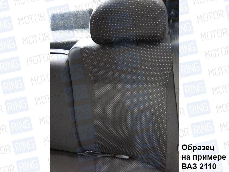 Обивка сидений (не чехлы) черная Искринка на Лада Нива 4х4_6