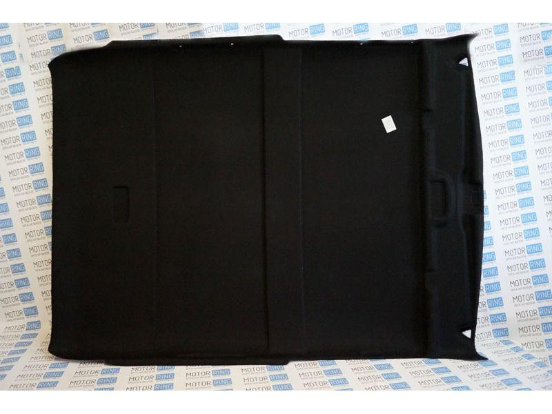 Черный жесткий потолок для 3-дверной Лада Нива 4х4_1