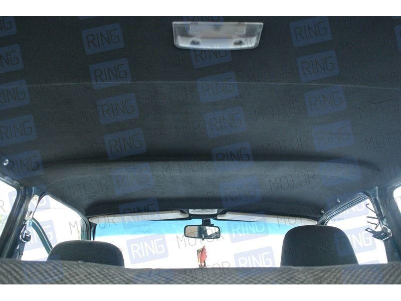 Черный жесткий потолок для 3-дверной Лада Нива 4х4_2