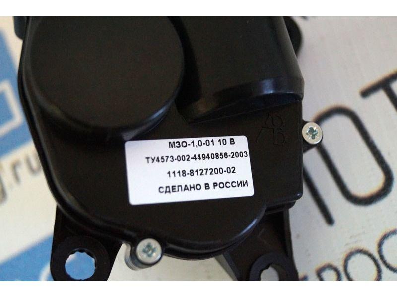 Моторедуктор заслонки отопителя с проводом на Лада Калина_3