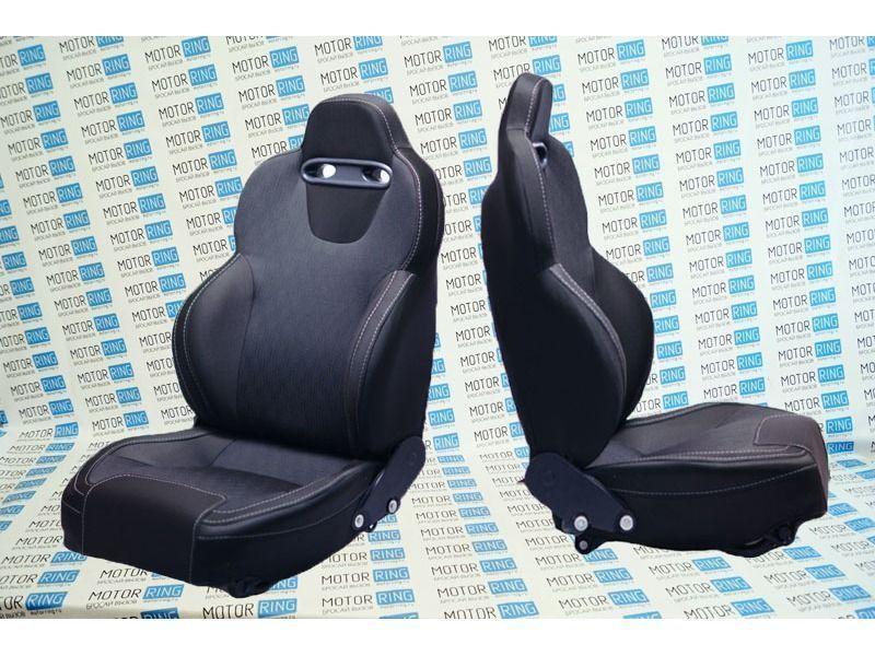 Комплект анатомических сидений VS Кобра на Лада Приора_1