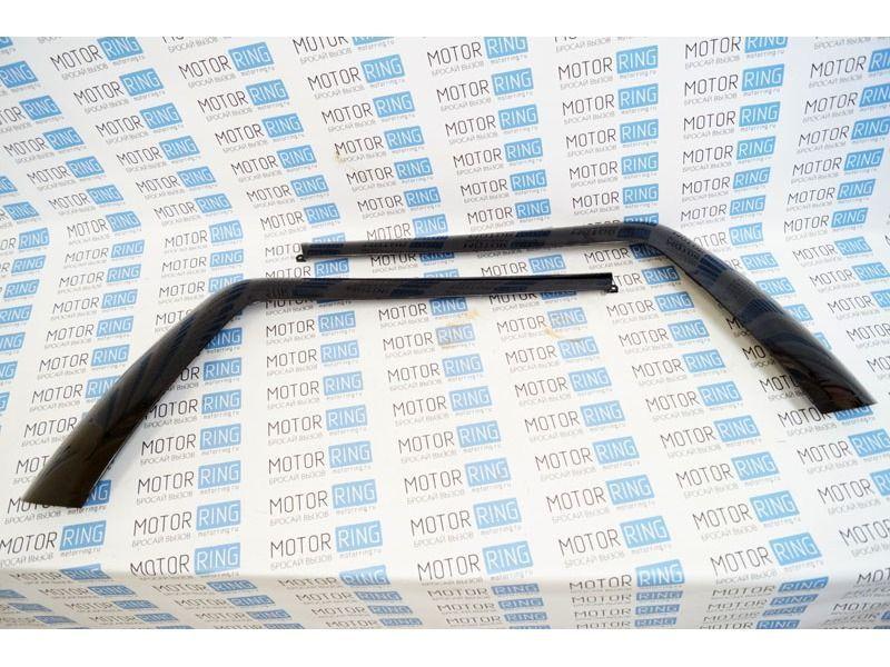 Облицовка задней форточки нового образца на ВАЗ 2111_2