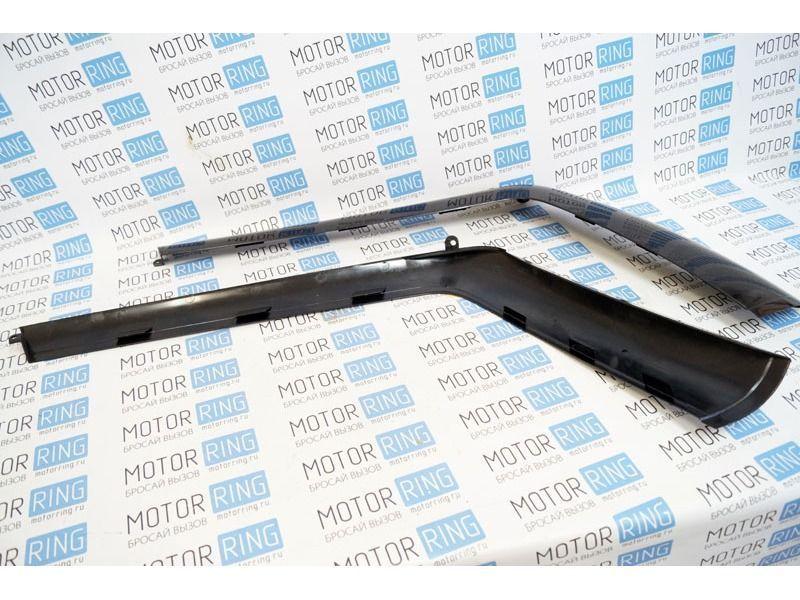 Облицовка задней форточки нового образца на ВАЗ 2111_4
