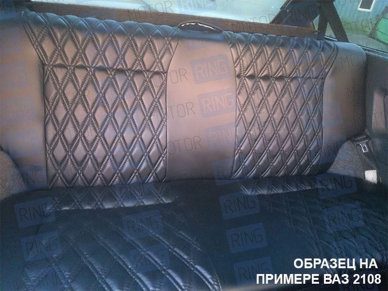 Обивка сидений (не чехлы) экокожа Ромб на Лада Нива 4х4_9