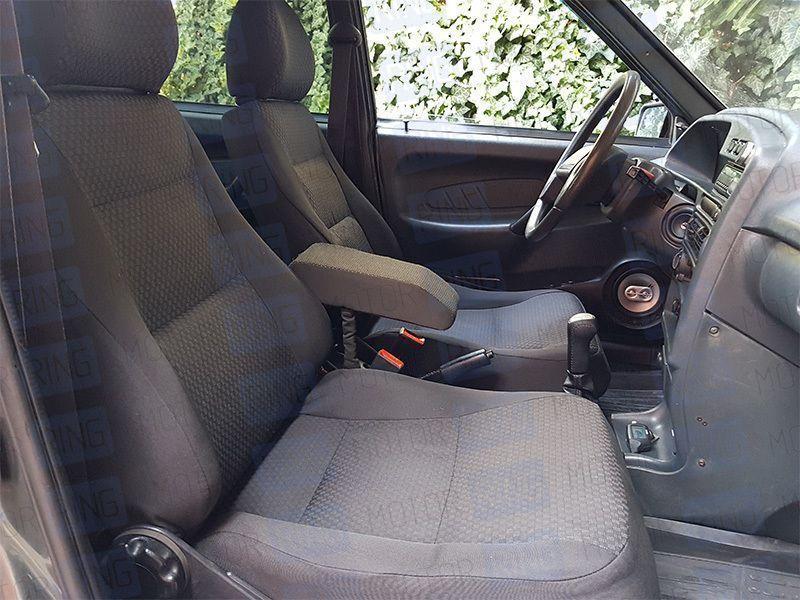 Обивка сидений (не чехлы) черная Ультра на ВАЗ 2108-21099, 2113-2115_10