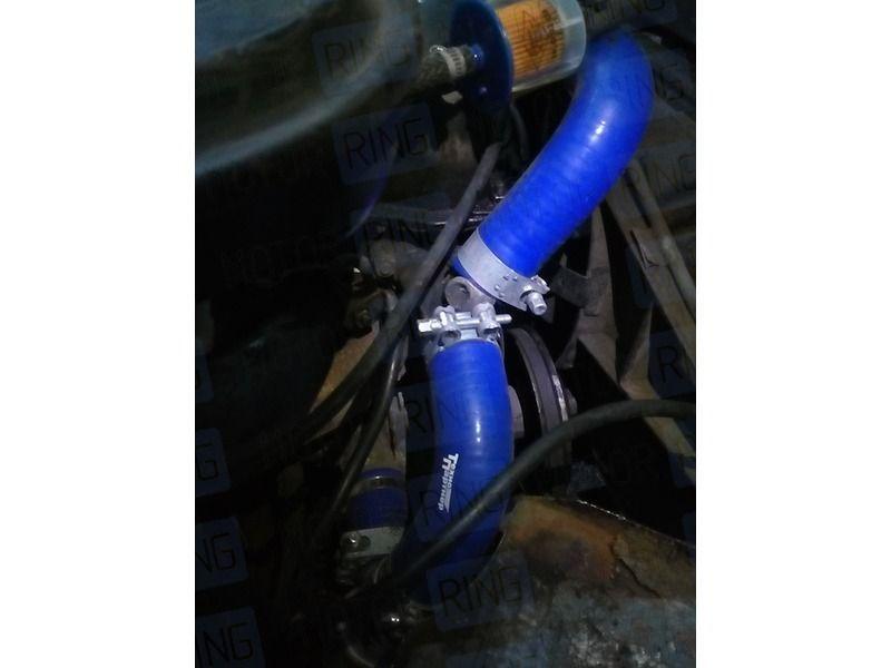 Силиконовые патрубки алюминиевого радиатора на ВАЗ 2101-2107 карбюратор_6