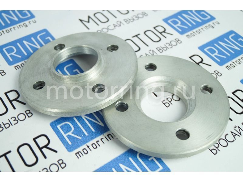 Проставки 2шт для расширения колеи на 15 мм (разболтовка 4 х 98, ступица 58.6, крепление сквозное) на ВАЗ_3