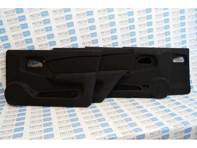 ХалявING! Обивки дверей ЛЮКС-3 ткань на ВАЗ 2109, 21099, 2114, 2115 (товар с дефектом - потертости, трещины, сколы)_1