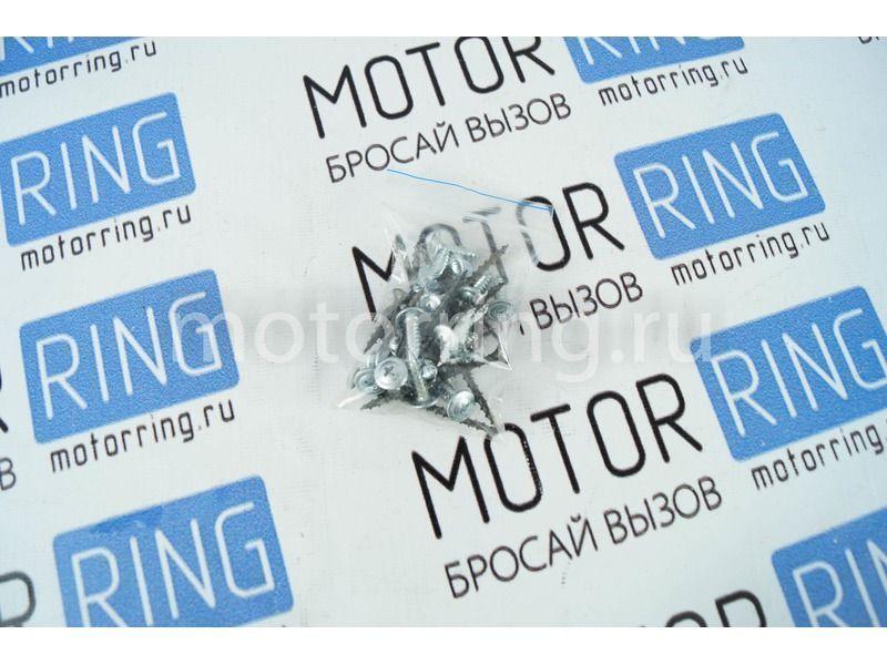 Подиумы 3-х компонентные 16 х 16см х рупор Модификация 1 на передние двери Лада Гранта_3