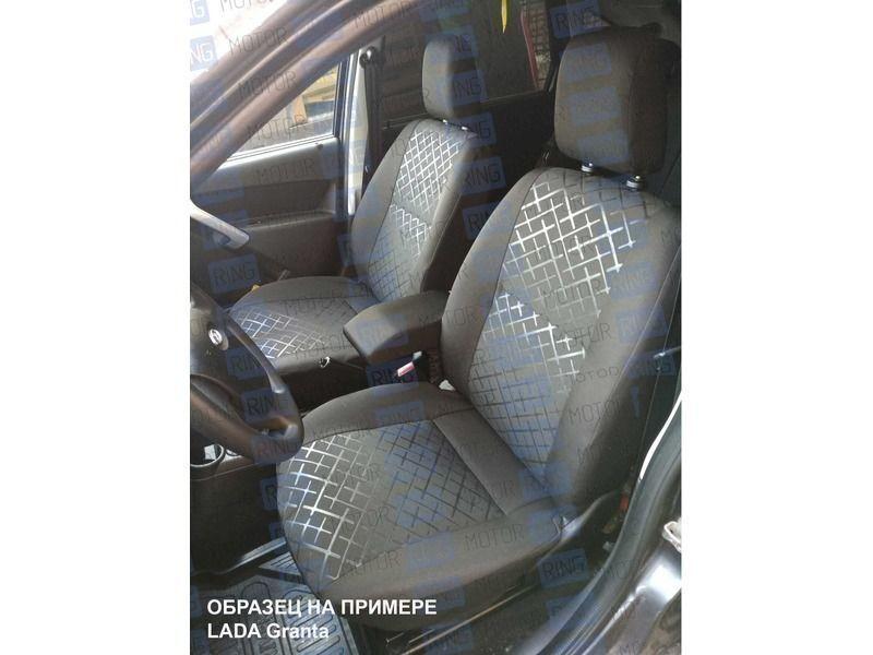 Обивка сидений (не чехлы) термотиснение Скиф на ВАЗ 2110_2