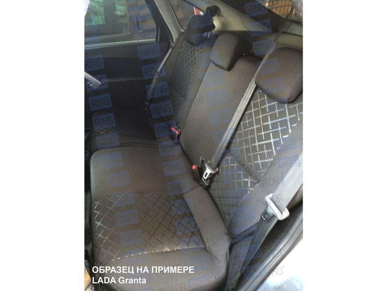 Обивка сидений (не чехлы) термотиснение Скиф на ВАЗ 2110_7
