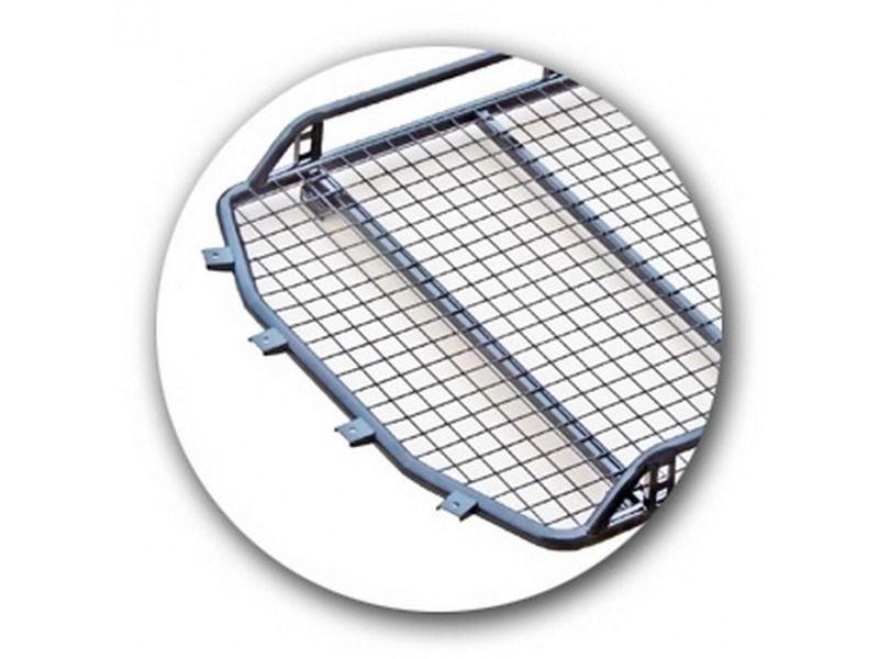 Багажник Трофи с сеткой без поперечин для Шевроле Нива_1